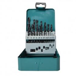 Estuche Brocas Metal 19 Piezas HSS-R 1-10 mm Taladrado