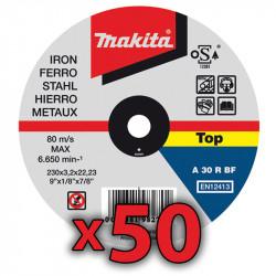 Disco Corte Metal 115 x 1 mm 50 Unidades Amoladora