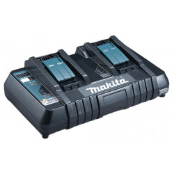 Cargador Batería Doble 18V DC18RD Baterías y cargadores