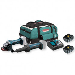 Kit Cerrajero DGA452+ DGD0800+ Baterías 4.0Ah Kit recomendados