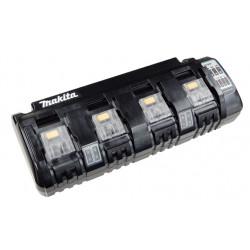 Cargador Batería 4 Puertos 18V DC18SF Baterías y cargadores
