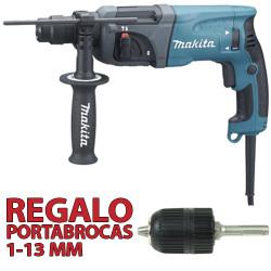 Martillo Ligero 2 Modos 710W HR2230 + Portabrocas Automático Martillos Ligeros