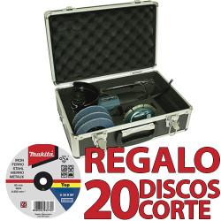 Amoladora 115 mm 720W Maletín GA4530RX1 + 25 Discos Corte P53001 115 mm
