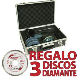 Amoladora 115 mm 720W Maletín GA4530RX1 + 3 Discos Diamante D61189 115 mm