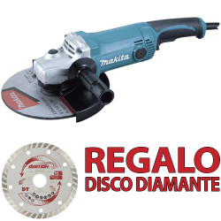 AMOLADORA 230MM 2.000W GA9050 + Disco Diamante D61173 230 mm