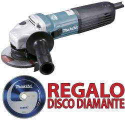 Amoladora 115mm 1.400W GA4540C + Disco Diamante B13085 115 mm