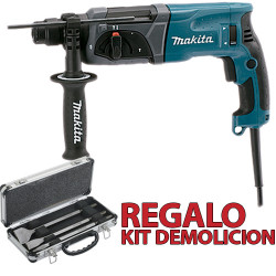 Martillo Ligero 3 Modos 780W HR2470 + Kit Demolición Martillos Ligeros