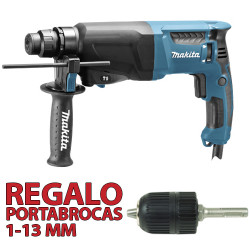 Martillo Ligero 2 modos 800W HR2600 + Portabrocas Automático Martillos Ligeros