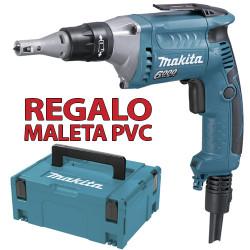 Atornillador Pladur 570W 6.300R.p.m. FS6300R + Maletín MakPac Atornilladores Pladur