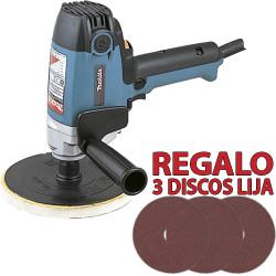 Pulidora 180mm 900W PV7000C4 + 3 Discos Lija Pulidoras