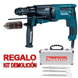 Martillo Ligero 3 Modos AVT 800W HR2631FT + Regalo Kit Demolición Martillos Ligeros