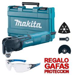 Multiherramienta 320W Cambio Rápido TM3010CX6 + Regalo Gafas Protección Multiherramienta Eléctrica