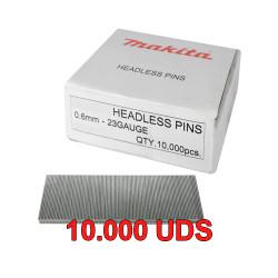 Clavo Clavadora Pin 0,6mm DPT353 PT354 Varias Medidas 10.000 Uds Clavadoras