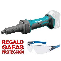 Amoladora Recta 18V 25.000R.p.m. DGD800Z + Regalo Gafas Protección Amoladoras