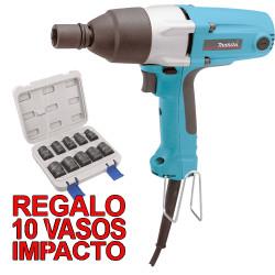 """Atornillador Impacto 200Nm 380W TW0200 1/2"""" + Regalo Juego Vasos Impacto Atornilladores de Impacto"""
