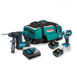 Kit Instalador DHR171+ DTD153+ 2 Baterías 5.0 Ah + Cargador Rápido + Trolley Kit recomendados